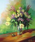 Panin Sergey. Yellow tulips