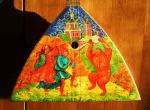 Skomarohi. The Painting on balalaika. Mirgorod Igor