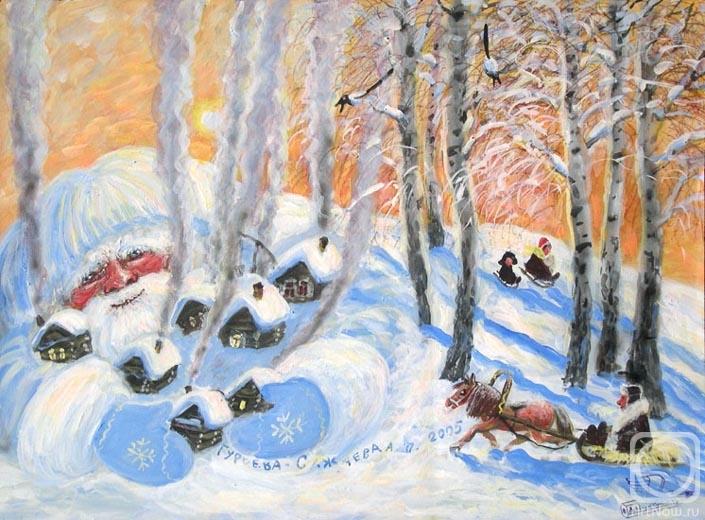 Гурьева-Сажаева Александра. Ой Мороз-Мороз