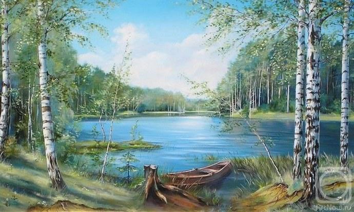 ... / Картины художника / Лесное озеро: artnow.ru/ru/gallery/3/8777/picture/2/189426.html