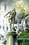 Чистяков Юрий. Памятник Баженову. Эскизный проект