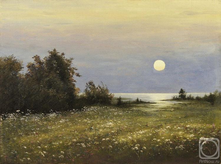 Соколов Юрий. Восход луны