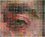 Eye. Etude before Vincent`s portrait