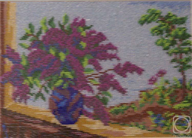 плетение гиацинта из бисера. белые деревья из бисера. картины из бисера схемы. вышивка бисером тюльпаны...