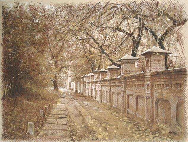 Ефремов Алексей. Осень на Добролюбова