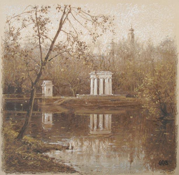 Ефремов Алексей. Осень в старом парке