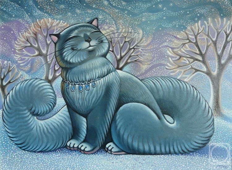 Белова Ася. Снег идет