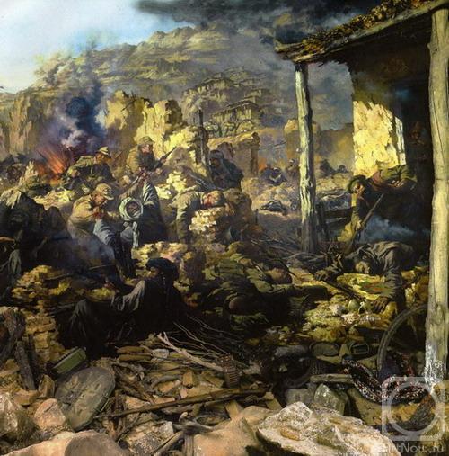 Диорама «Афганская война. Как это было ...: artnow.ru/ru/gallery/3/10000/picture/0/219395.html