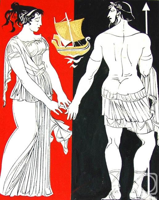 Чистяков Юрий. Одиссей и Пенелопа