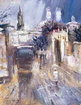 Bazhenov Sergey. Blues of winter city