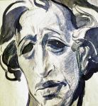 А.Блок. Эскиз к скульптурному портрету