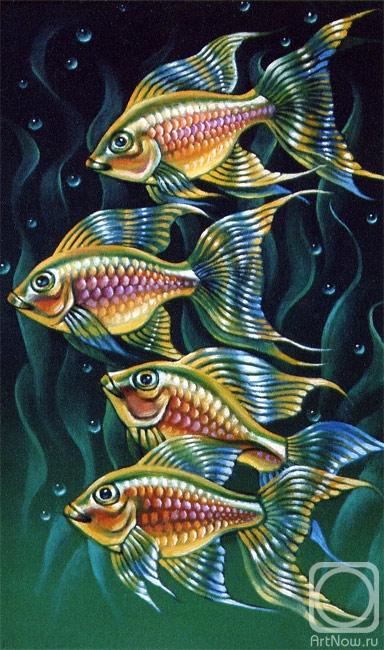 Белова Ася. Рыбёшки