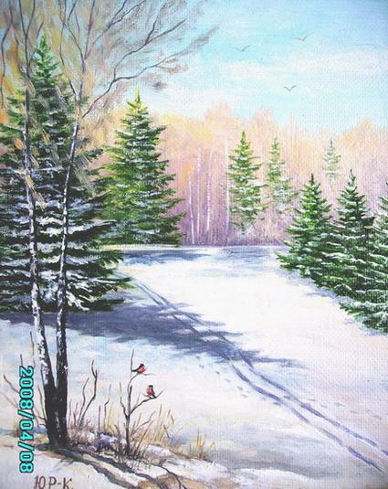 Рнегирь, рисунок