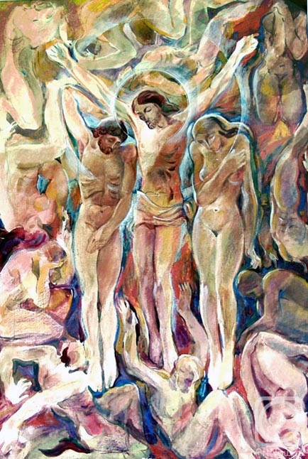 Chistyakov Yuri. The Holy Week. Rescued Adam and Eve