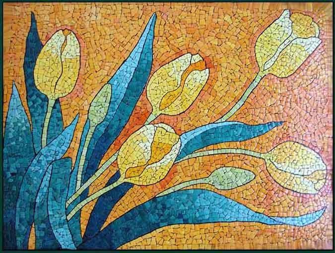 Мешакина Любовь. жёлтые тюльпаны