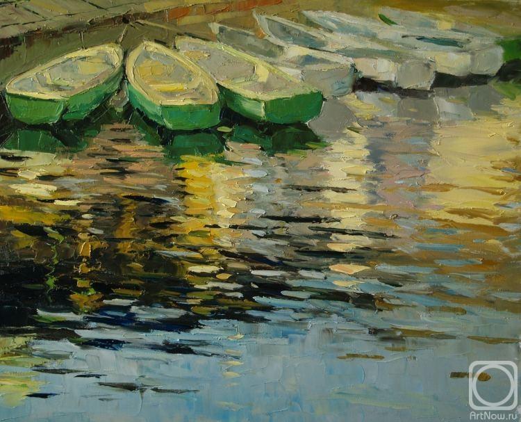 лодки в пирита