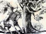 Chistyakov Yuri. Ile Murometse and the Nightingale-robber - 10/93
