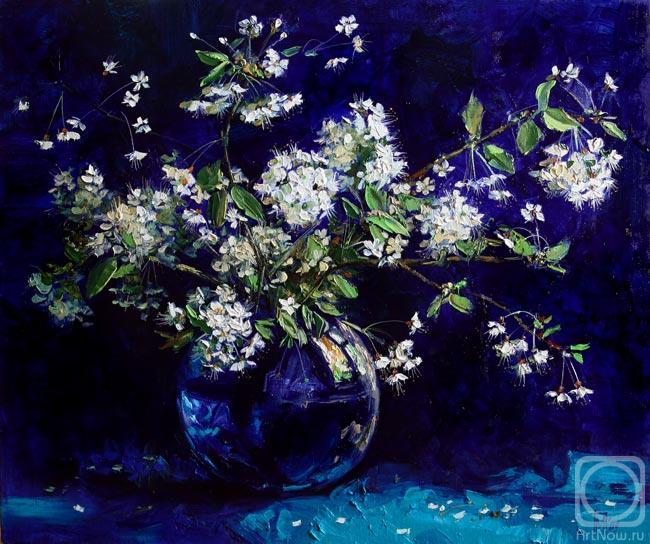 Художник Павлова Мария В чистом виде синий цвет в природе встречается редко, но из-за своей редкости всегда желанен.