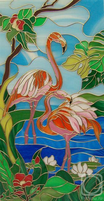 Вячина Наталья. Фламинго