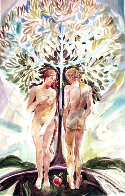 Чистяков Юрий. Список картин. К поэтике «Адам и Ева»