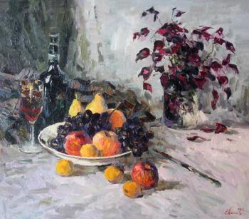 A still-life with the fruits