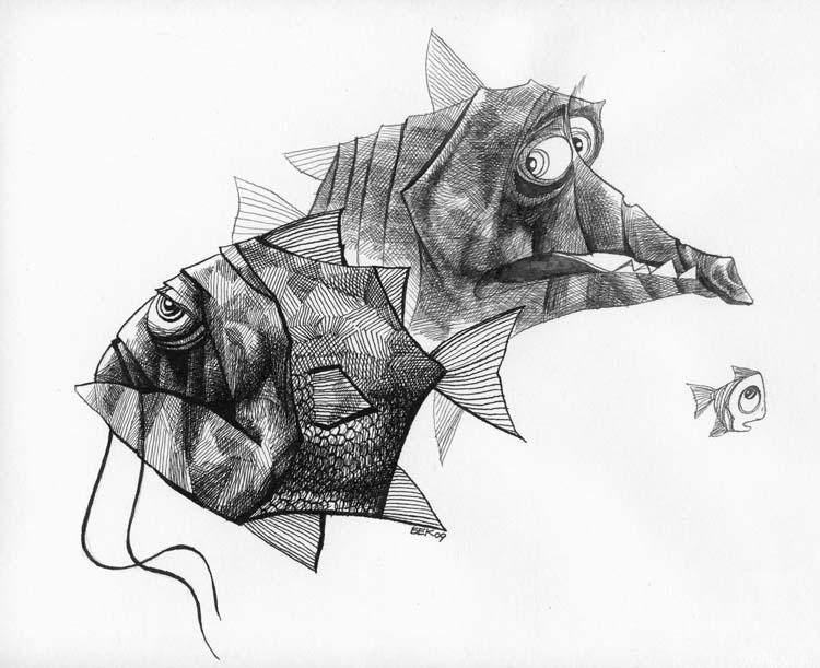 Бекетов Максим. Рыбки