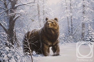 медведь рисунки и картины