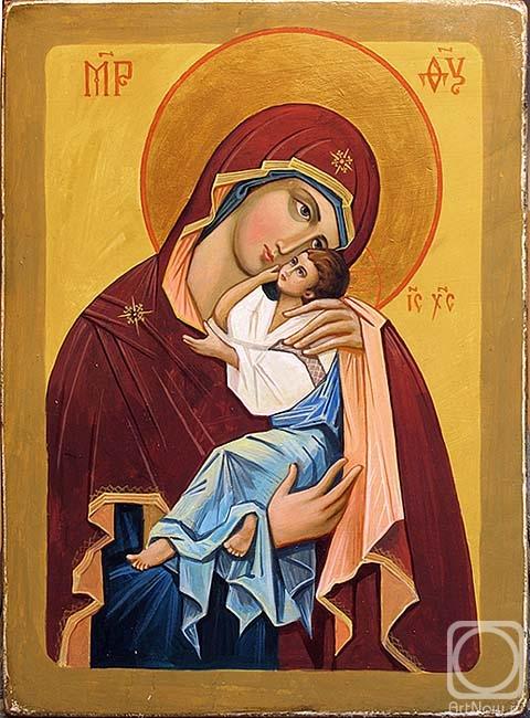 """Предпросмотр - Схема вышивки  """"Умиление матери """" - Схемы автора  """"Svetlank """" - Вышивка крестом."""