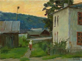 Panov Igor. Decline in small town