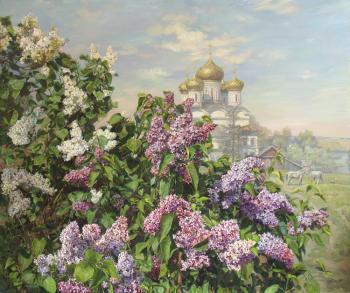 Lilac in May. Panov Eduard