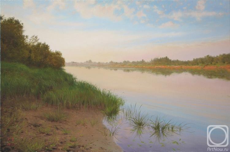 Картины художника река ветлуга