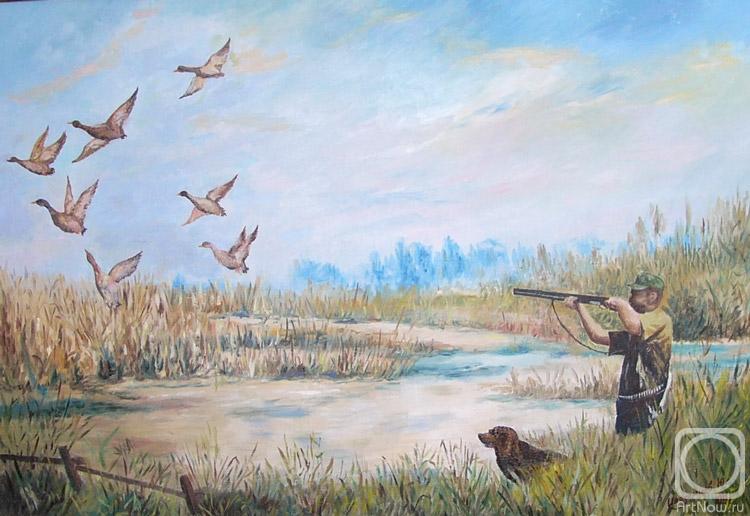 Открытки охоты на утку волгоград