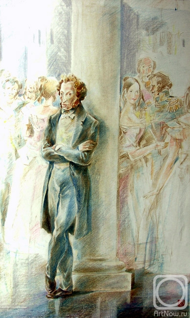 Chistyakov Yuri. «The worldly joys are wistful for him...». A.Pushkin