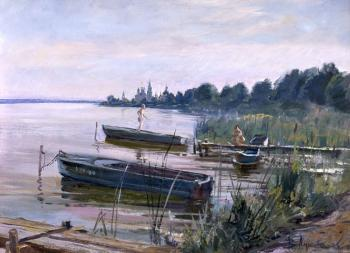 At the lake Nero. Loukianov Victor
