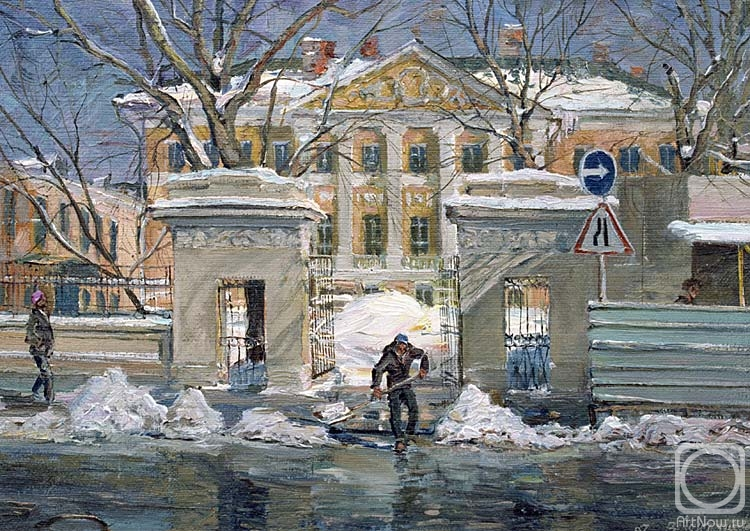 Лукьянов Виктор. Особняк на Ордынке
