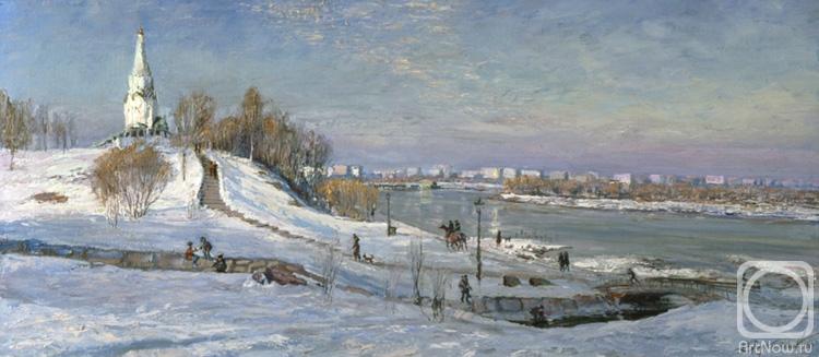 Лукьянов Виктор. Коломенское. Москва