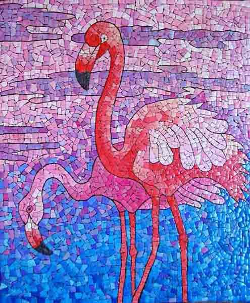 Мешакина Любовь. фламинго