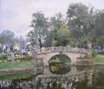 Pavlovsk. The Visconty's bridge