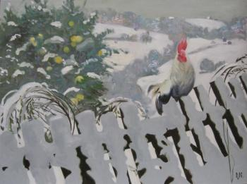 An apples in the Snow. Mogilevsky Constantin