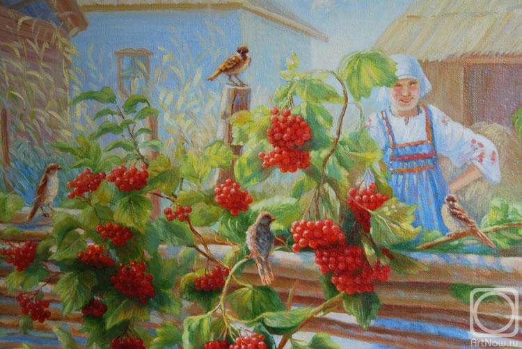 Сидоренко Жанна. Калина у плетня. Фрагмент