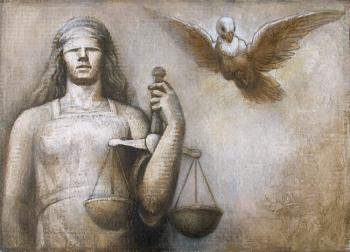 Allegory of Justice (esquisse III)