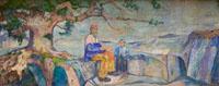 В столице Норвегии из галереи похищена картина художника Эдварда Мунка