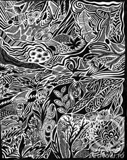 Бумага гелевая ручка 30см x 21см 2009 г