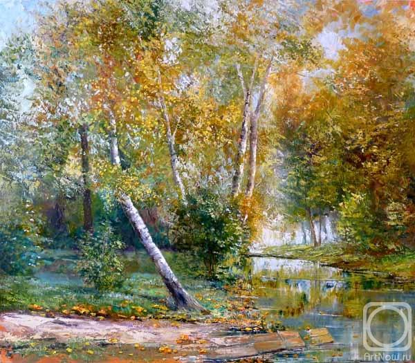 Картины художника осенний пейзаж