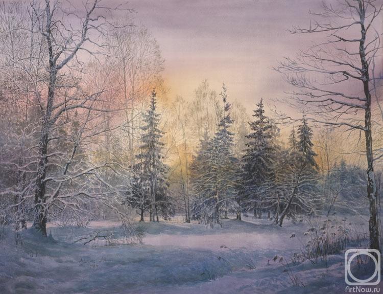 Лесохина любовь пейзаж зимнего леса