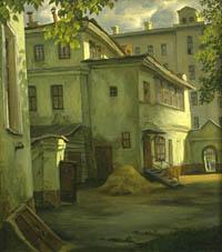 Живописец Владимир Парошин - выразитель души города
