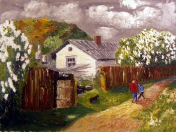 Lilac in Pokrovka. Zhadko Grigory