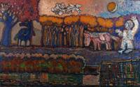 """Выставка """"Прогулки одинокого мечтателя"""". Москва. ЦДХ. 14-24 января 2010г."""