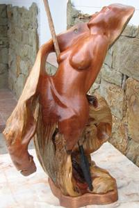 Скульптуры из дерева Владимира Мещерякова