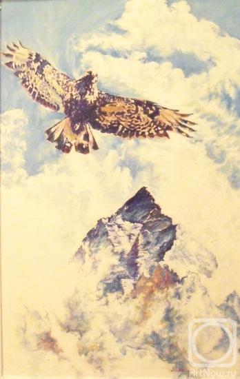 Гималаи. Парящий орел.